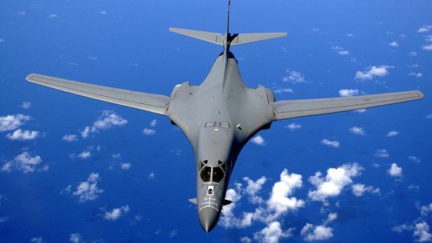 Bombardero B-1B de las Fuerzas Aéreas estadounidenses