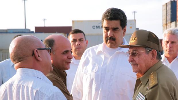 Nicolás Maduro, en Cuba