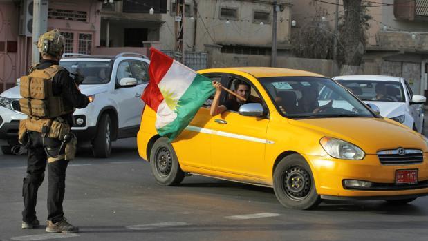 El Gobierno central iraquí da la orden de enviar tropas a Kirkuk