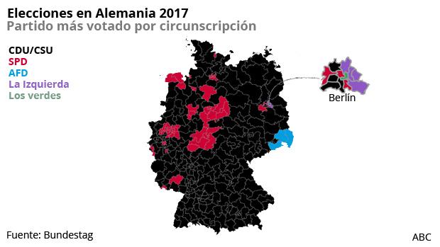 Las claves de las elecciones en Alemania 2017 en gráficos