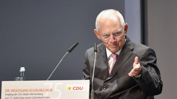 El hasta ahora ministro de Finanzas alemán, Wolfgang Schäuble