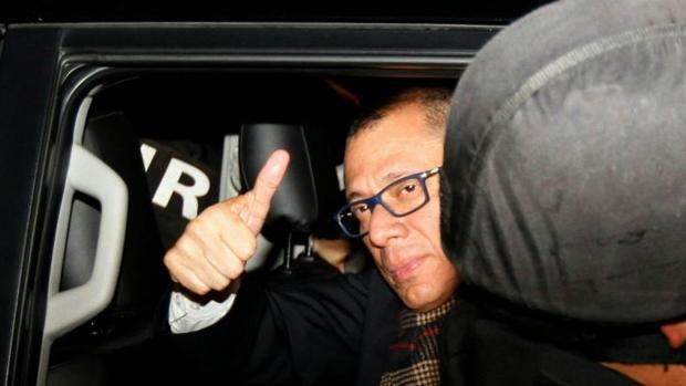 El vicepresidente de Ecuador ingresa en prisión por la trama Odebrecht