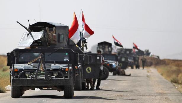 El Ejército iraquí entra en las afueras de Hawiya, en su ofensiva para recuperar la ciudad