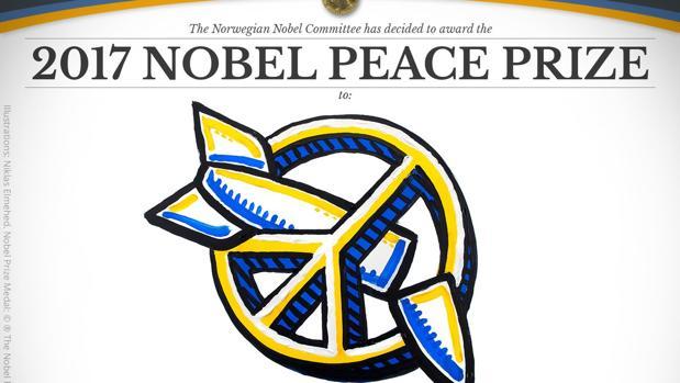 La campaña internacional para la Abolición de las Armas Nucleares, Premio Nobel de la Paz 2017