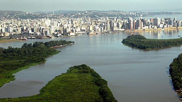 Porto Alegre, capital del estado Rio Grande del Sur