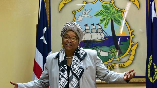 Ellen Johnson Sirleaf, presidenta de Liberia