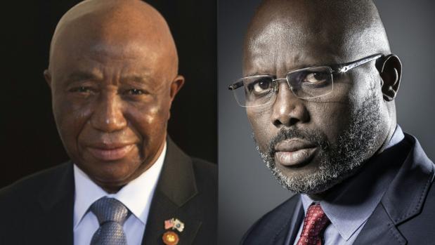 Weah y Boakai se enfrentarán en la segunda vuelta de las presidenciales de Liberia