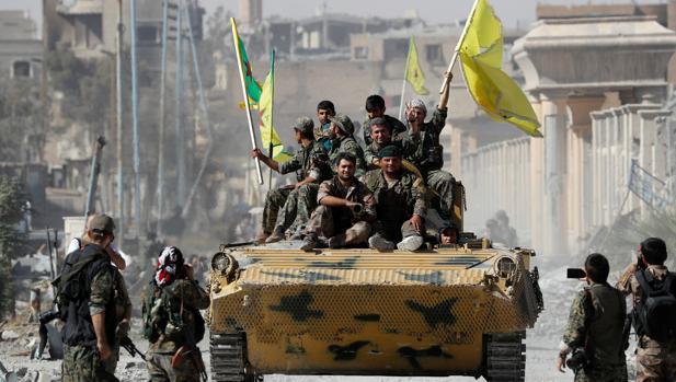 Turquía teme que los kurdos se crezcan en la zona conquistada en Siria