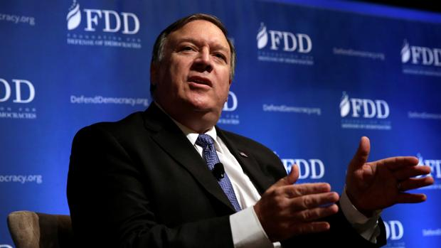 El director de la Agencia Central de Inteligencia de Estados Unidos, Mike Pompeo