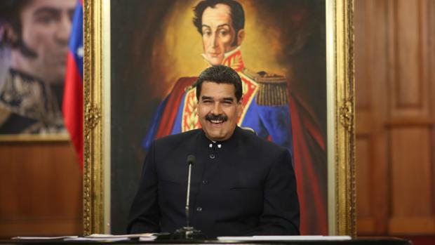 Nicolás Maduro, durante su comparecencia ante los medios el pasado martes