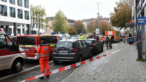 Al menos cuatro heridos por un ataque con un cuchillo en Múnich