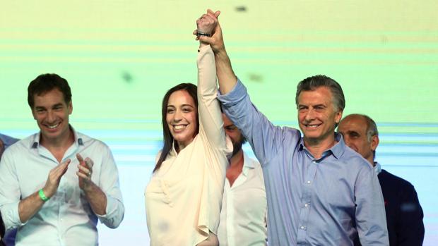 Macri triunfa en las legislativas argentinas