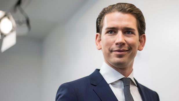 El líder del Partido Popular austríaco, Sebastian Kurz