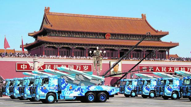 Desfile en Pekín del 70 aniversario de la victoria de China sobre Japón