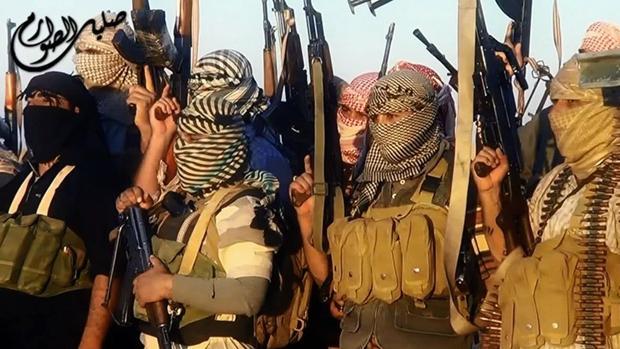 Un grupo de yihadistas de Daesh en Irak