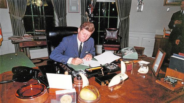 El dosier Kennedy podría desvelar qué hizo Oswald en México