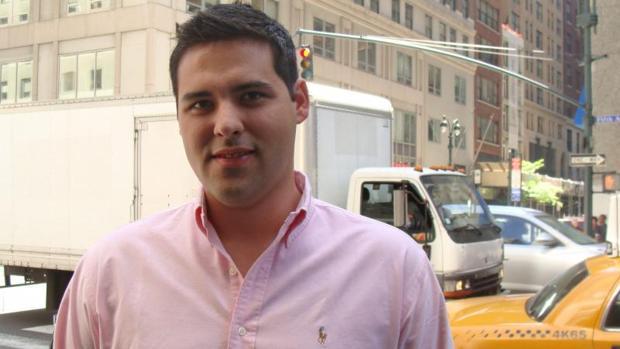 El opositor venezolano Yon Goicoechea, durante su etapa en la Universidad de Columbia (Nueva York)