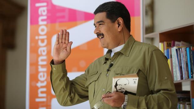 El presidente venezolano, en su programa semanal de radio y televisión, «Los Domingos con Maduro»