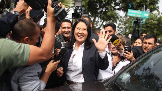 Keiko Fujimori, en la campaña de 2016