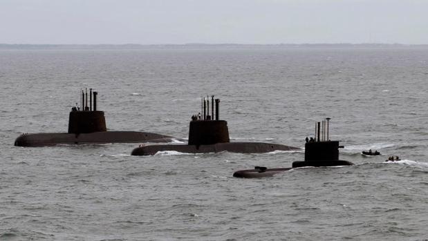 La Armada argentina busca un submarino desaparecido desde el miércoles