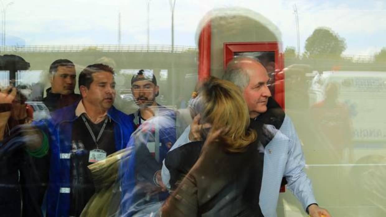 Maduro desea «felicidad» a Ledezma y pide a España que no lo devuelva
