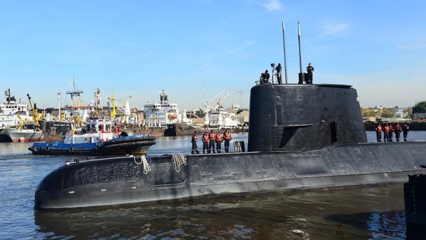 Reino Unido se suma a la búsqueda del submarino argentino perdido