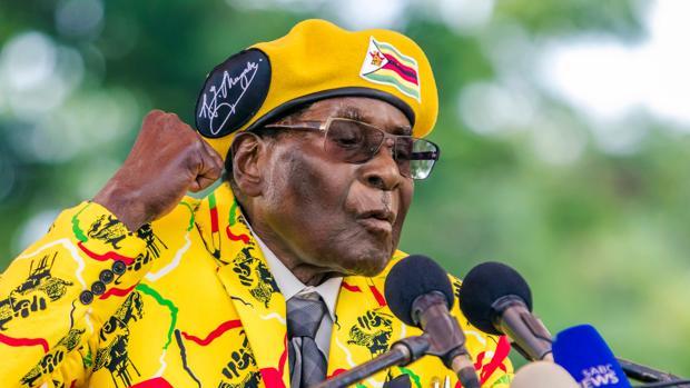 Robert Mugabe, el único presidente que ha tenido Zimbabue desde su independencia en 1980