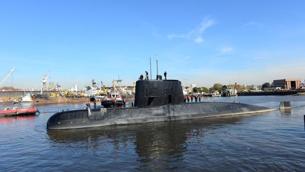 La Armada argentina recibe al menos 7 intentos de comunicación emitidos desde el submarino perdido