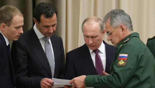 Putin recibe a Al Assad en Sochi para buscar una salida política a la guerra de Siria