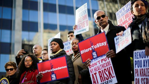Trump deportará a los 60.000 haitianos acogidos tras el terremoto