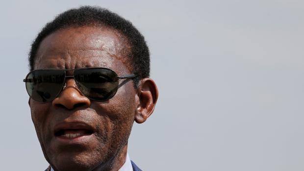 Teodoro Obiang, presidente de Guinea