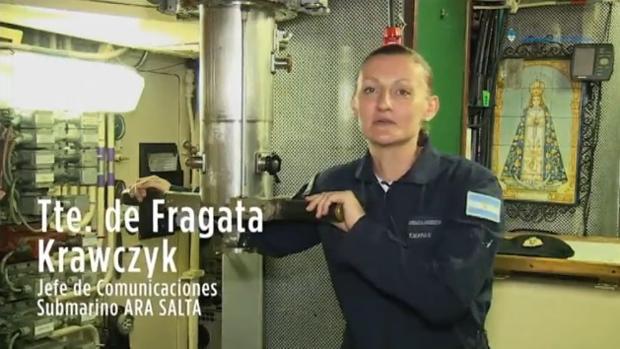 La primera oficial submarinista de Argentina y otras víctimas del submarino desaparecido