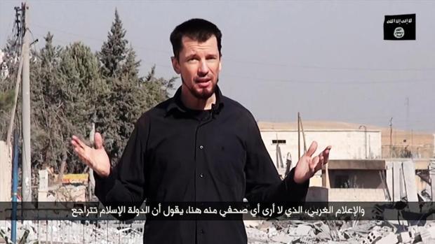 Las incógnitas del caso John Cantley, el reportero atrapado en el derrumbe del «califato»