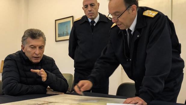 La crisis del submarino desata un pulso entre Macri y la Armada argentina