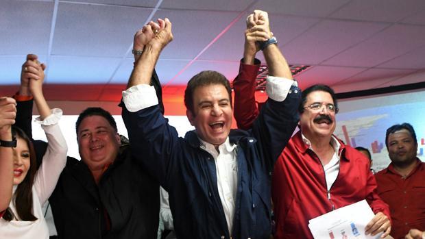 La alianza de izquierda aventaja a Hernández en las elecciones de Honduras