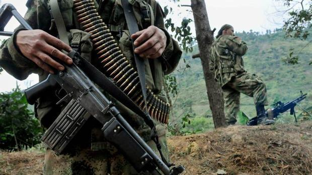 Un retén de las FARC, en una imagen de archivo