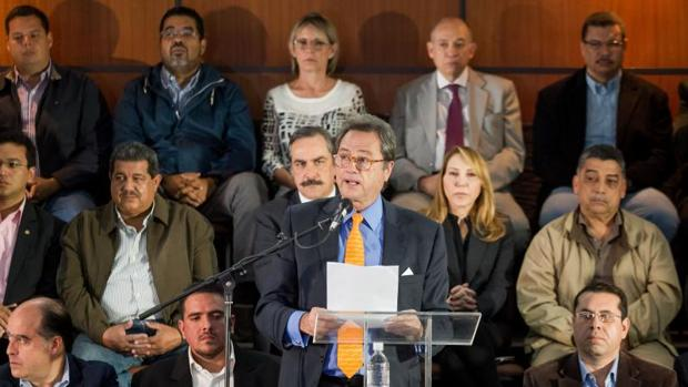 Hemeroteca: La oposición reafirma las líneas rojas para el diálogo con Nicolás Maduro | Autor del artículo: Finanzas.com