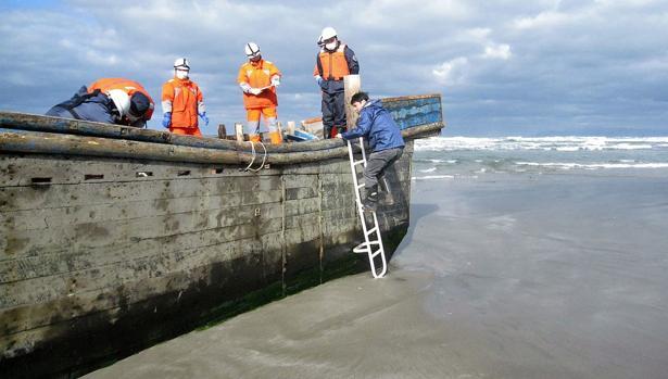 Una ola de «barcos fantasma» con esqueletos llega a Japón desde Corea del Norte