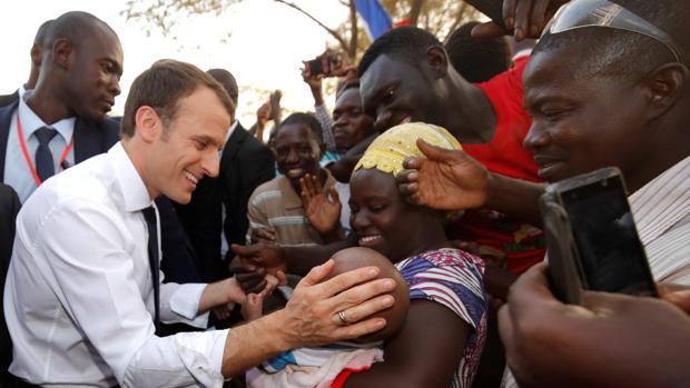 Las promesas de Macron «El Africano»