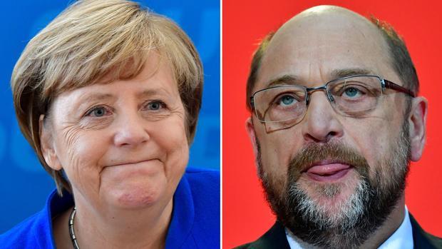 Merkel y Schulz comienzan a negociar el lunes