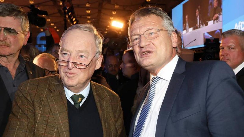 Los divididos ultras alemanes eligen al líder que menos asusta, Jörg Meuthen
