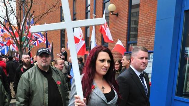 «Britain First», los ultras a los que Trump ha dado alas