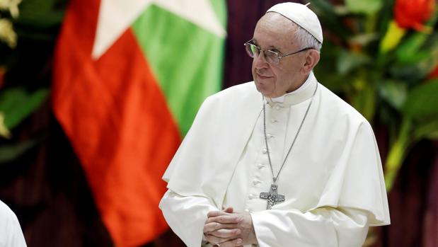 El Papa Francisco en Birmania