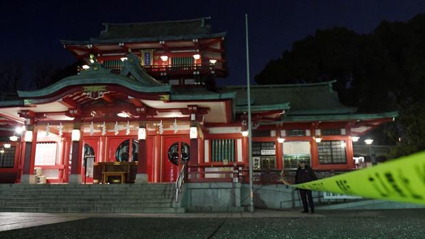 Mueren tres personas tras un ataque con katanas en un santuario sintoísta de Tokio