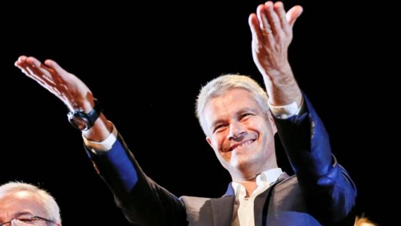 Laurent Wauquiez, nuevo líder de la derecha francesa