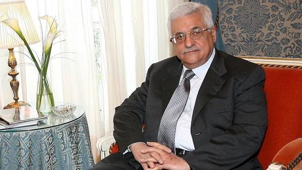 Imagen de archivo del presidente palestino, Mahmud Abás