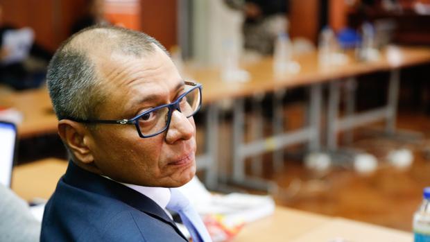 El vicepresidente ecuatoriano Jorge Glas, durante la audiencia de exposición de alegaciones del pasado viernes 8 de diciembre