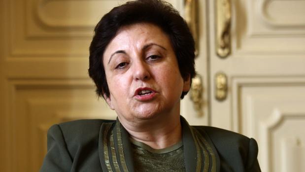 Shirin Ebadi, en una visita a España - ÓSCAR DEL POZO