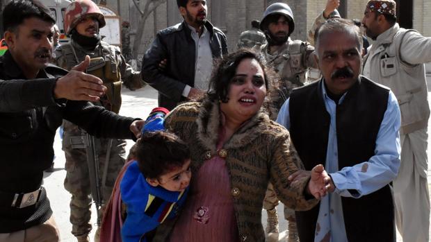 El ataque contra la iglesia metodista Bethel Memorial en Quetta (Pakistán) comenzó a primeras horas de la mañana
