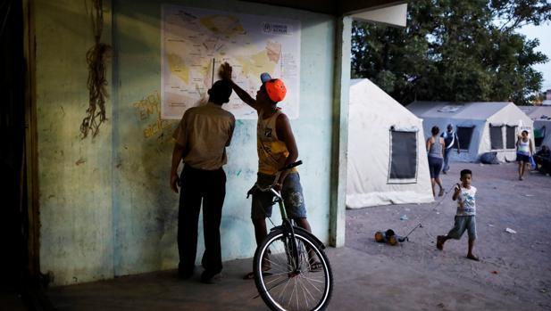 La miseria provoca una huida masiva de venezolanos a Brasil